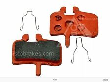 1 Pair HAYES HFX9 PROMAX Hayes9 Red CERAMIC Hard Disc Brake Pads OBE Long Life