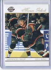2003/04 PACIFIC SUPREME RED MARIAN GABORIK 48 WILD