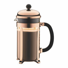 Bodum Chambord Coffee Herbal Tea Maker Press 8 Cup, 1L, Copper