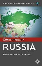 Contemporary Russia by Edwin Bacon and Matthew Wyman (2005, Hardcover)