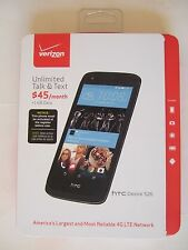 NEW Sealed pkg HTC Desire 526 VERIZON Prepaid 4G LTE SIM No-Contract Android