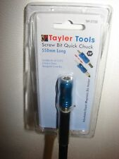 Tayler Tools 550mm Screwbit Magnetic Quick Chuck 1/4""
