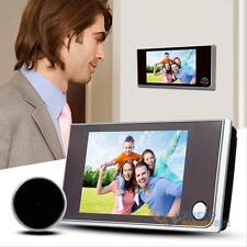 "3.5"" Digital Doorbell 120° Peephole Eye Viewer Home IR Camera Doorbell Door Bell"