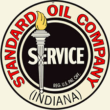 Standard Oil Company Indiana Service Station Gas Sign