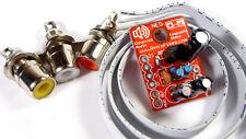 Nintendo Top Loader NES-101 Composite AV RCA & LED Audio Upgrade Kit