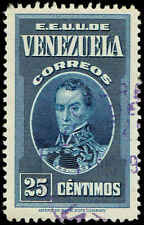 Scott # 332 - 1938 - ' Simon Bolivar '