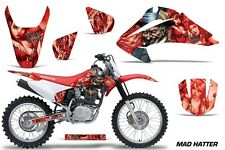 Honda CRF 150/230F Graphic Kit AMR Racing Decal Sticker Part 03-07 MAD HATTER R