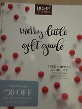 HOME DECORATORS COLLECTION CATALOG HOLIDAY 2015 MERRY LITTLE GIFT GUIDE BRAND NE