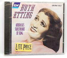 Ruth Etting: America's Sweetheart of Song ~ NEW CD (2001, ASV/Living Era (UK))