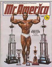 Mr America Bodybuilding Muscle Magazine/Sergio Oliva 3x Mr Olympia 6-68