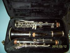 Bundy _all_ Granadilla wood clarinet, good wood, vintage