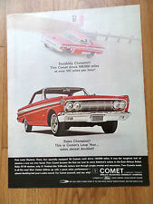 1964 Mercury Comet Ad  Sales Almost Doubled