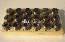 ER32 (6Pcs) Collet Set Metric Size High Precision Spring Clamping Collet