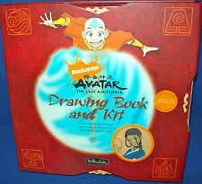NICKELODEON AVATAR LAST AIRBENDER DRAWING BOOK &KIT Factory Sealed SHANE JOHNSON