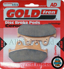 Honda Gb 500 Frontal sinterizado Pastillas De Freno 1988-Goldfren-Gb500 Gb-500