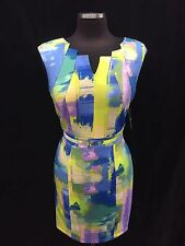 "ELLEN TRACY DRESS/SIZE 12/RETAIL$129/LENGTH 40""/STRETCH SCUBA FABRIC"