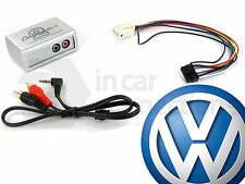 VW AUX input adapter interface Golf Mk6 jack RCD300 RCD500 CTVVGX004 Volkswagen