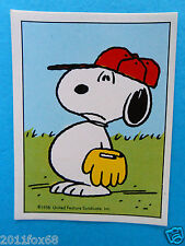 figurines figuren stickers snoopy figurine i love snoopy n. 177 panini 1980-90