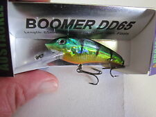 Austackle Boomer DD65 JUNGLE GREEN deep diver fishing lure NIP