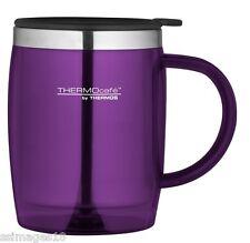 Termo thermocafe 0,45 Litro Escritorio Taza púrpura Camping Picnic taza de té, café