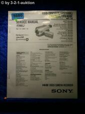 Sony Service Manual CCD TRV107E TRV108E TRV208E TRV408E Video (#5680)