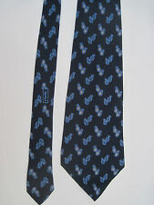 -AUTHENTIQUE  cravate cravatte   YVES SAINT LAURENT 100% soie  TBEG  vintage