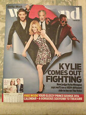 Nueva De Fin De Semana Revista Kylie Minogue Will.i.am Tom Jones Ricky Wilson La Voz