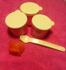 BABY ALIVE HOME MADE MAGNETIC PACIFIER & SPOON AND CONTAINERS FOR FOOD