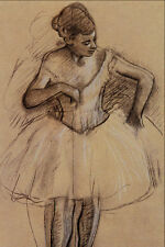 501032 Ballet Dancer Edgar Degas A4 Photo Print