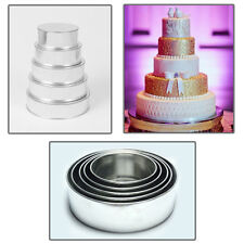 5 Tier Round Multilayer Wedding Cake Tins