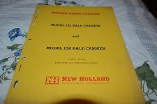 New Holland 131 132 Bale Carrier Dealer's Parts Book Manual DCPA5