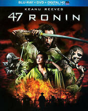 47 RONIN BLURAY & DVD + DIGITAL COPY WITH SLIPCOVER KEANU REEVES