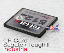 512 MB SAGATEK TOUGH II INDUSTRIAL COMPACT FLASH CF-CARD CF-KARTE FCM512D1101 24