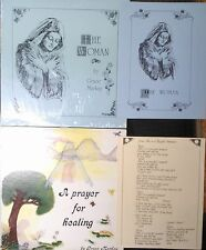"""LP x 2 Grace Markay """"The Woman,"""" """"A Prayer For Healing"""" with nice booklets"""