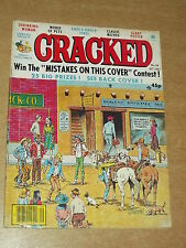 CRACKED #39 BRITISH MAGAZINE OCTOBER 1981 WESTERN SHRINKING WOMAN~