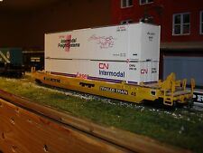 Athearn Gunderson Husky-Stack Well Car w/ Two Walthers 48' Containers