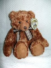 """Russ Teddy Bear100th Anniversary Collection """"Peony"""" - Plush Toy 7"""" sitting"""