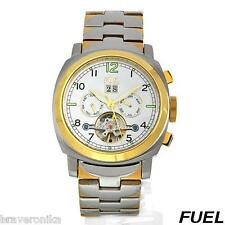 FUEL! SWISS MOVEMENT, DATE AUTOMATIC MULTI FUNCTION GENTLEMEN'S WATCH. BRAND NEW