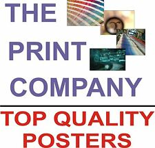 30 x A4 Poster printing service onto 110gsm paper