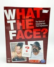 What the Face Target Exculsive Board Game Spinmater Games New Sealed