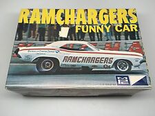 RAMCHARGERS FUNNY CAR model Kit MPC 1/25 in box  Scale NOT COMPLETE
