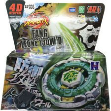 Fang Leone BB-106 130W2D Metal Fury 4D Beyblade Starter Set w/ Launcher &Ripcord