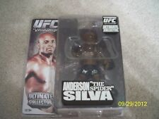 "BRAND NEW! COLLECTOR'S ANDERSON ""THE SPIDER"" SILVA UFC ACTION FIGURE!"