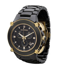 CALABRIA - Sottomarino Collection Ceramic Chronograph Men's Watch with Rose Gold