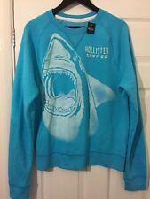 BNWT Men's/Women's HOLLISTER Blue Graphic Sweatshirt. Size: M.