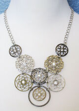 Premier Designs Jewelry Social Circle Necklace RV$59