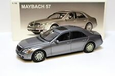 1:18 AUTOart Maybach 57 Himalaya grey NEW When PREMIUM-MODELCARS