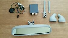 vw golf mk4 r32,, bora,passat,skoda,seat pearl grey autodim rear view mirror set