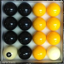 NEW Casino Pool Ball Set - STEELERS Black & Yellow - 16 Balls - FREE US SHIP