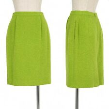 FOXEY BOUTIQUE Angola wool blend skirt Size 40(K-22373)